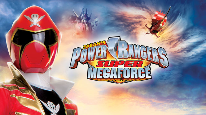 Netflix Box Art for Power Rangers Super Megaforce - Season 1