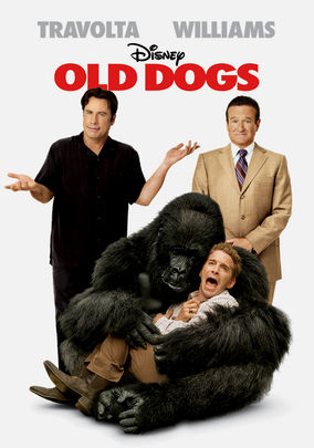 Netflix box art for Old Dogs