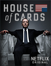 HOUSE OF CARDS is keeping Netflix on top