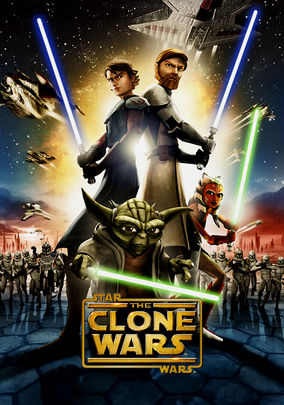 Netflix Box Art for Star Wars: The Clone Wars