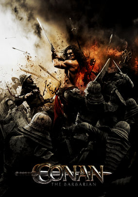 Netflix box art for Conan the Barbarian