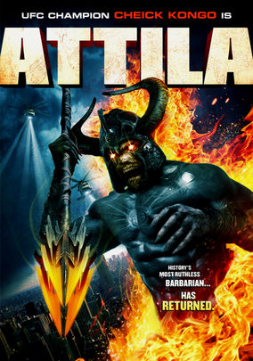 Netflix Box Art for Attila