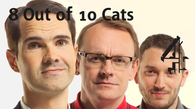 Netflix Box Art for 8 out of 10 Cats - Series 1