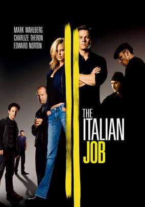 Netflix box art for The Italian Job