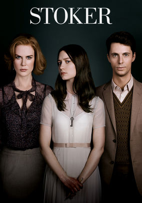 Netflix Box Art for Stoker