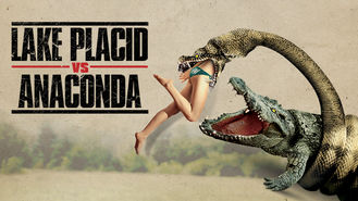 Netflix box art for Lake Placid vs. Anaconda