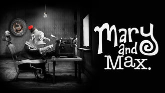 Is Mary and Max on Netflix?