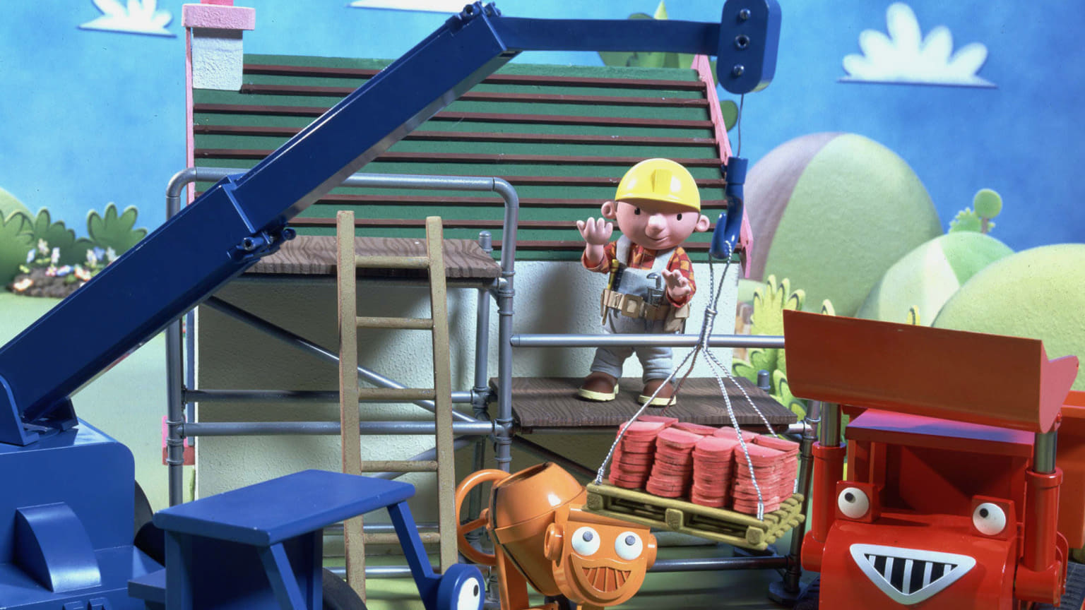 Bob the builder build it big on netflix Where to find a builder