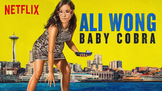 Netflix box art for Ali Wong: Baby Cobra